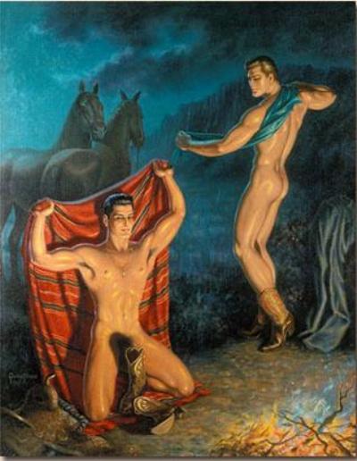 Галерея Ковбои Романтическая эротика первой половины ХХ века.