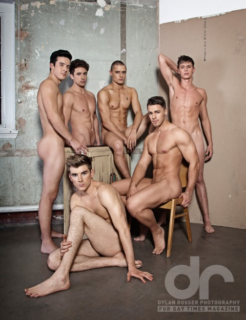 Gay Times Naked Issue 2013 by Dylan Rosser