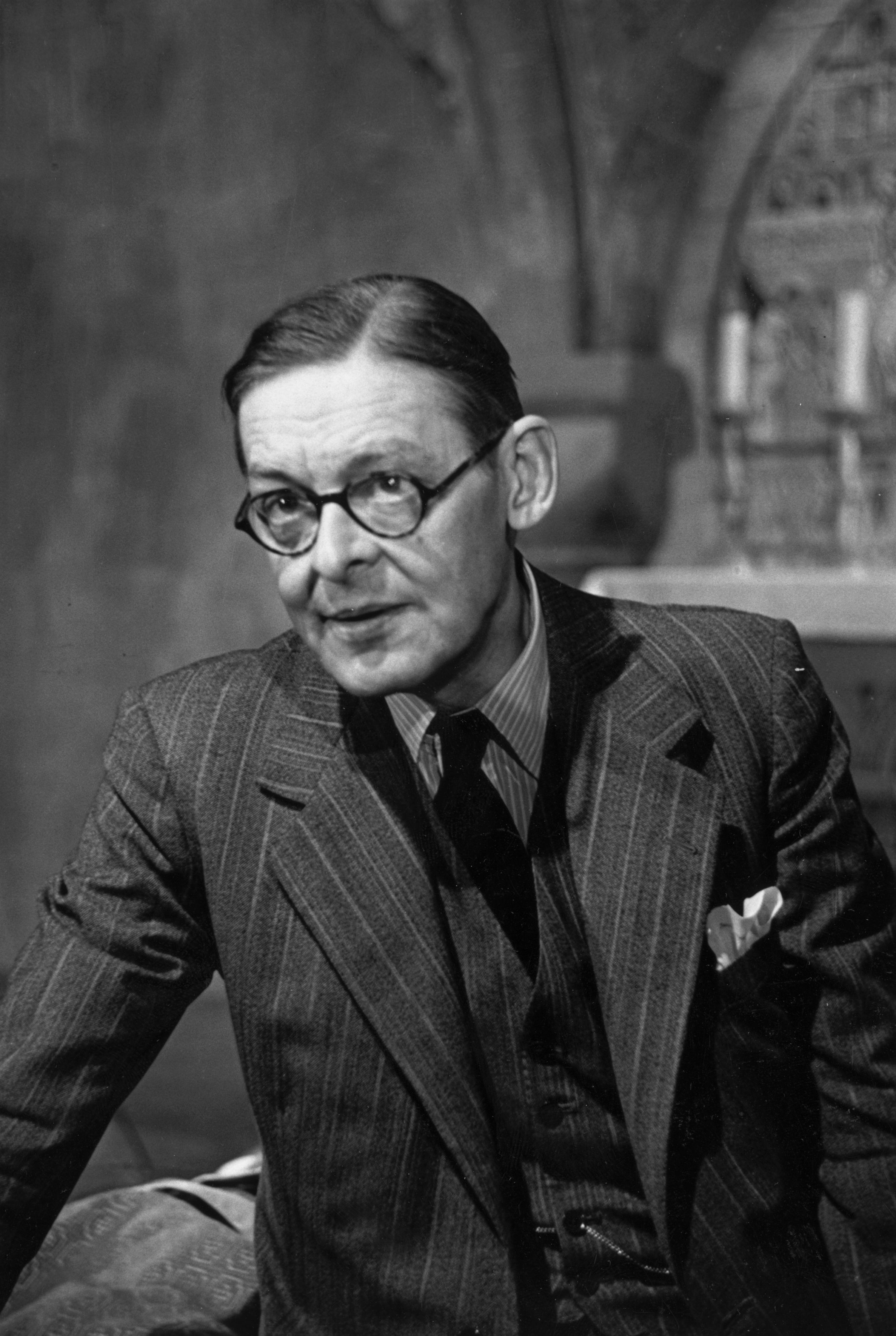 T s eliot and gay think